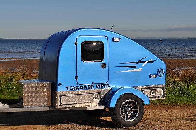 Off Road Teardrop Camper Viper Caravans Teardrop Pinterest