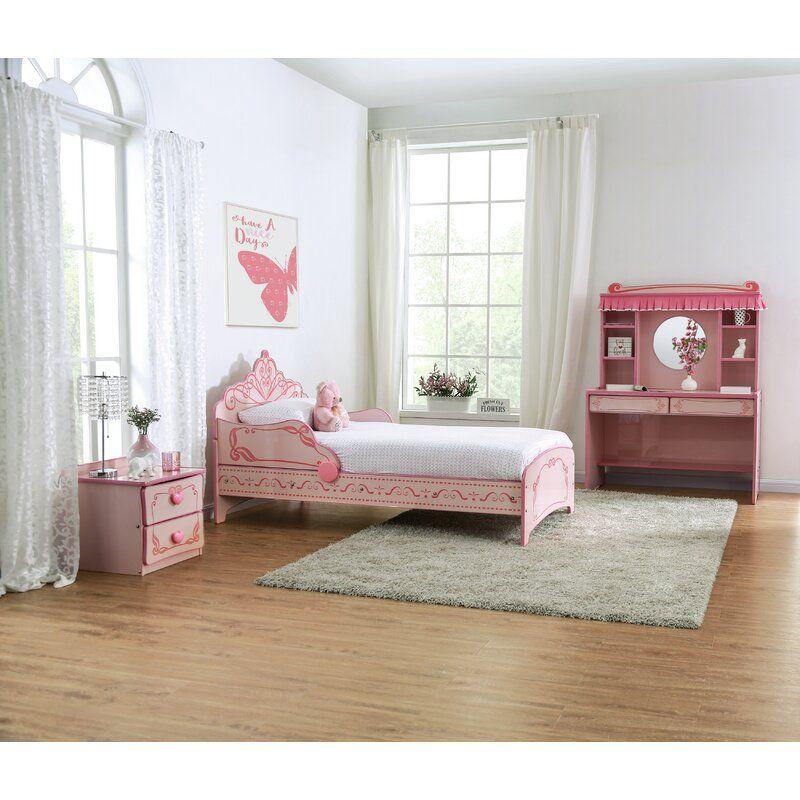 Genoa Princess Crown Single Bed In 2020 Twin Bedroom Sets Single Bed Bedroom Set