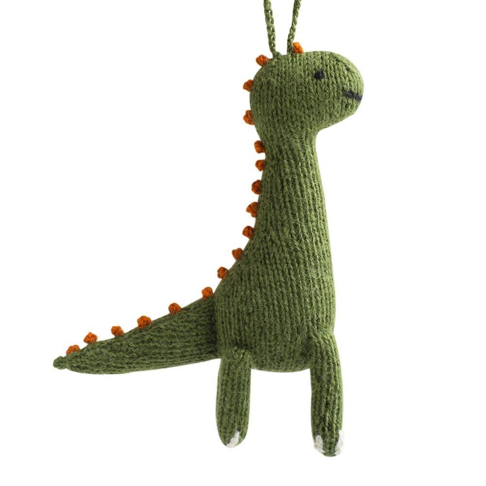 ALPACA BRONTOSAURUS ORNAMENT | Dinosaur ornament, Handmade ...