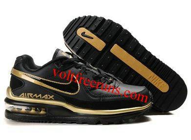 K6486 Nike Air Max Wright Men's Shoe Black-Metallic Gold   #Black  #Womens #Sneakers