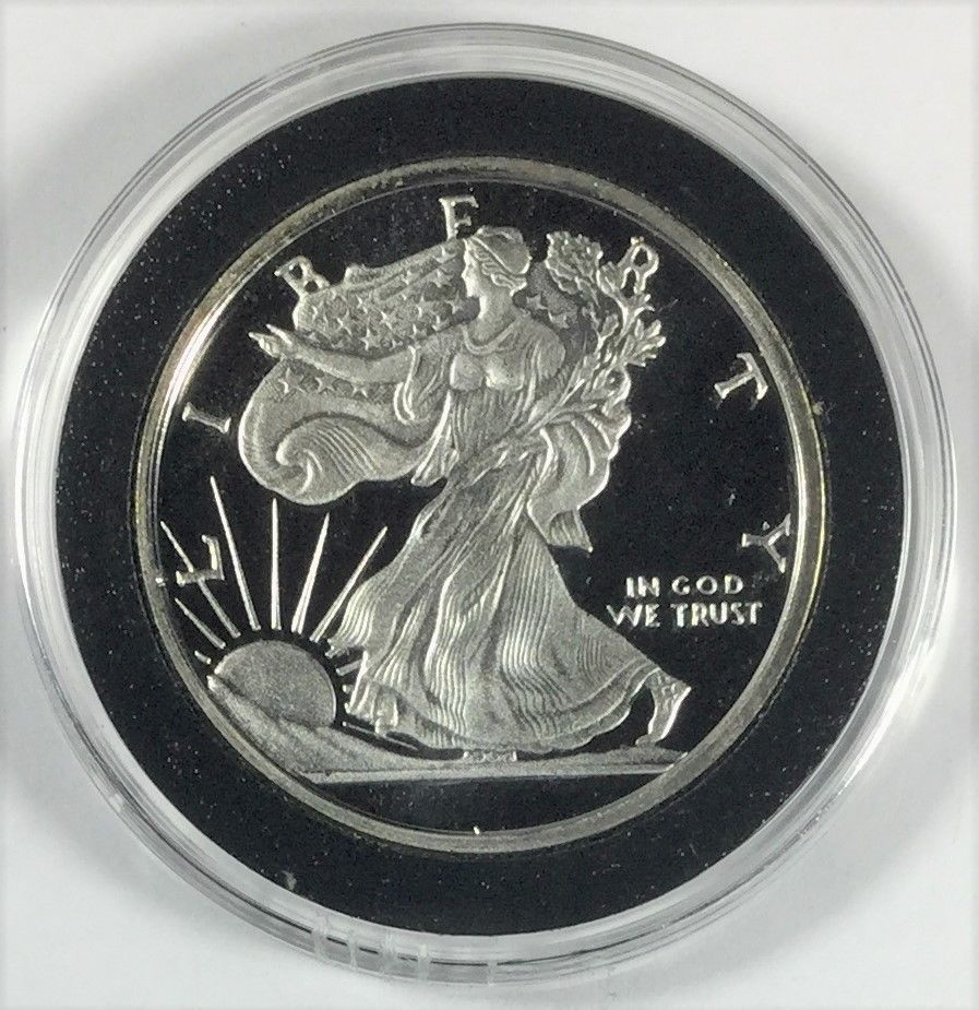 1 2 Troy Oz 999 Fine Silver Round Walking Liberty 34829 Ebay Ebay Silver Rounds Stamp