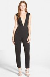 Missguided Plunging Jumpsuit