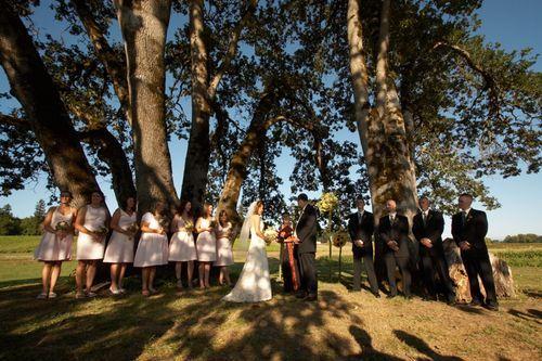 Wedding At The Summit Of Council Crest Park Portland Oregon Ejp Events Planning Outdoor Inspiration Pinterest