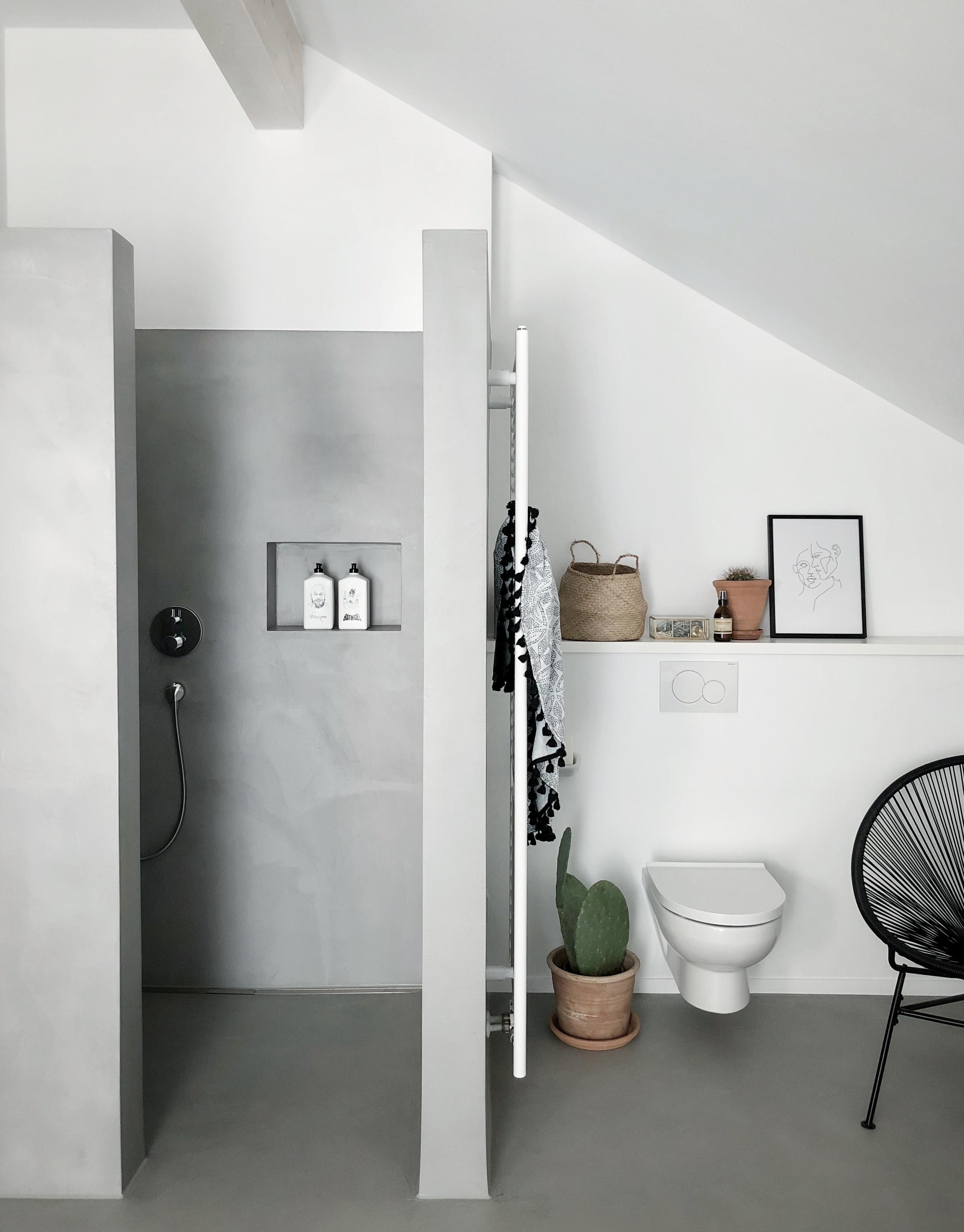 Badezimmer  bathroom badezimmer betoncire