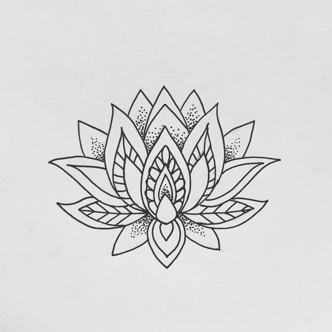 Flower Drawings Lotus Tattoo Design Small Lotus Flower Tattoo Flower Thigh Tattoos