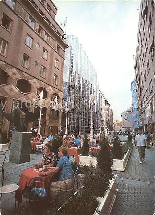 Zagreb 1988 Gajeva Croatia Holiday Zagreb Street View
