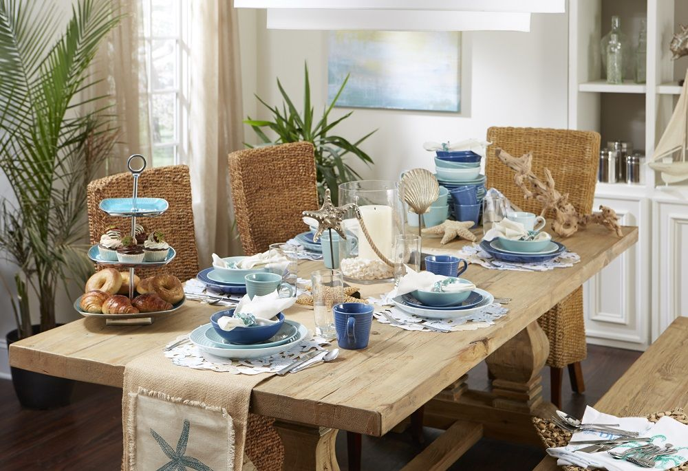 Coastal Dining Bedbathandbeyond Com Coastal Decor Decor Beach Cottage Decor