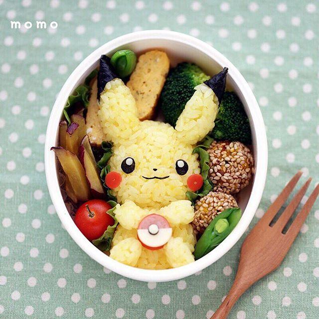 momokyaraben: 全身バージョン  #キャラ弁 #デコ弁 #ピカチュウ #pokemon #pikachu #momokyaraben #kyaraben #bento #bentoart #Foodart #cuto #かわいい #kawaii #幼稚園弁当 #Japanesefood #レシピ #characterbento #Lunchbox #Lunch #lin_stagrammer #デリスタグラマー #クッキングラム #クッキングラムアンバサダー #らくらく弁当 #igersjp