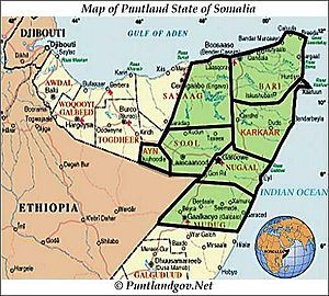Image result for political map of Somaliland