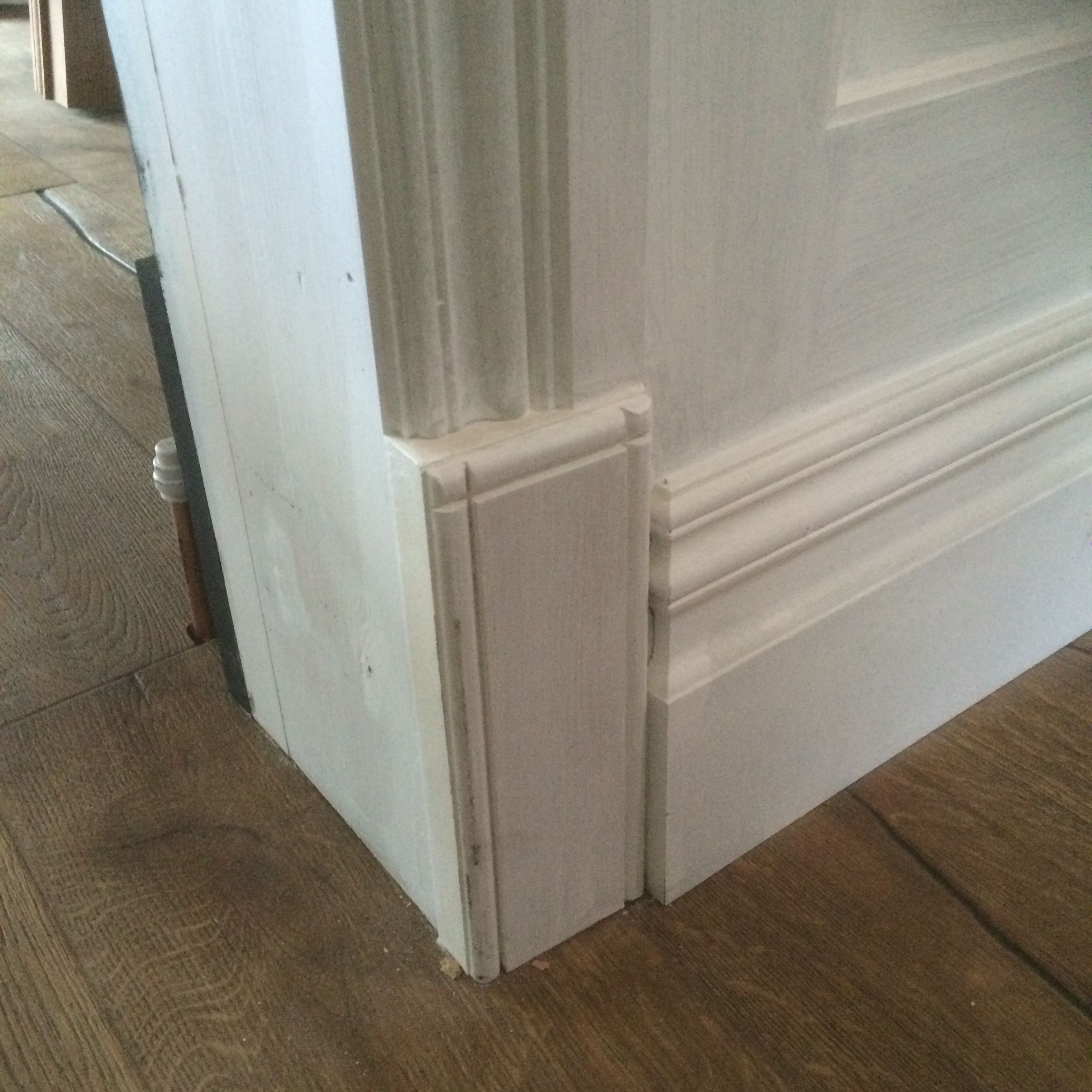 matching skirtings architraves and plinth blocks with wall aepnllign ...