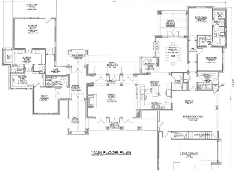 French country home plans jack arnold - Maison familiale citadine jack arnold ...