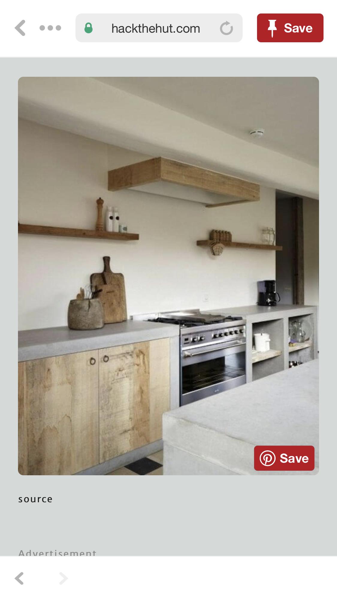 Pin De Lissa Ress En Costa Rica Cocina De Concreto Interiores De Casa Cocina Renovada