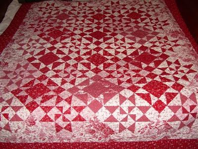 Repro Quilt Lover: Red and White Gift | Red and White Quilts ... : repro quilt lover - Adamdwight.com