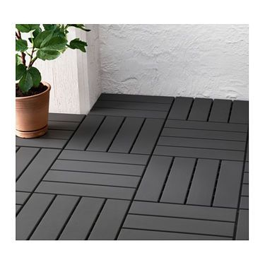 IKEA RUNNEN Floor Decking, Outdoor Floor Decking Makes It Easy To Refresh  Your Terrace Or
