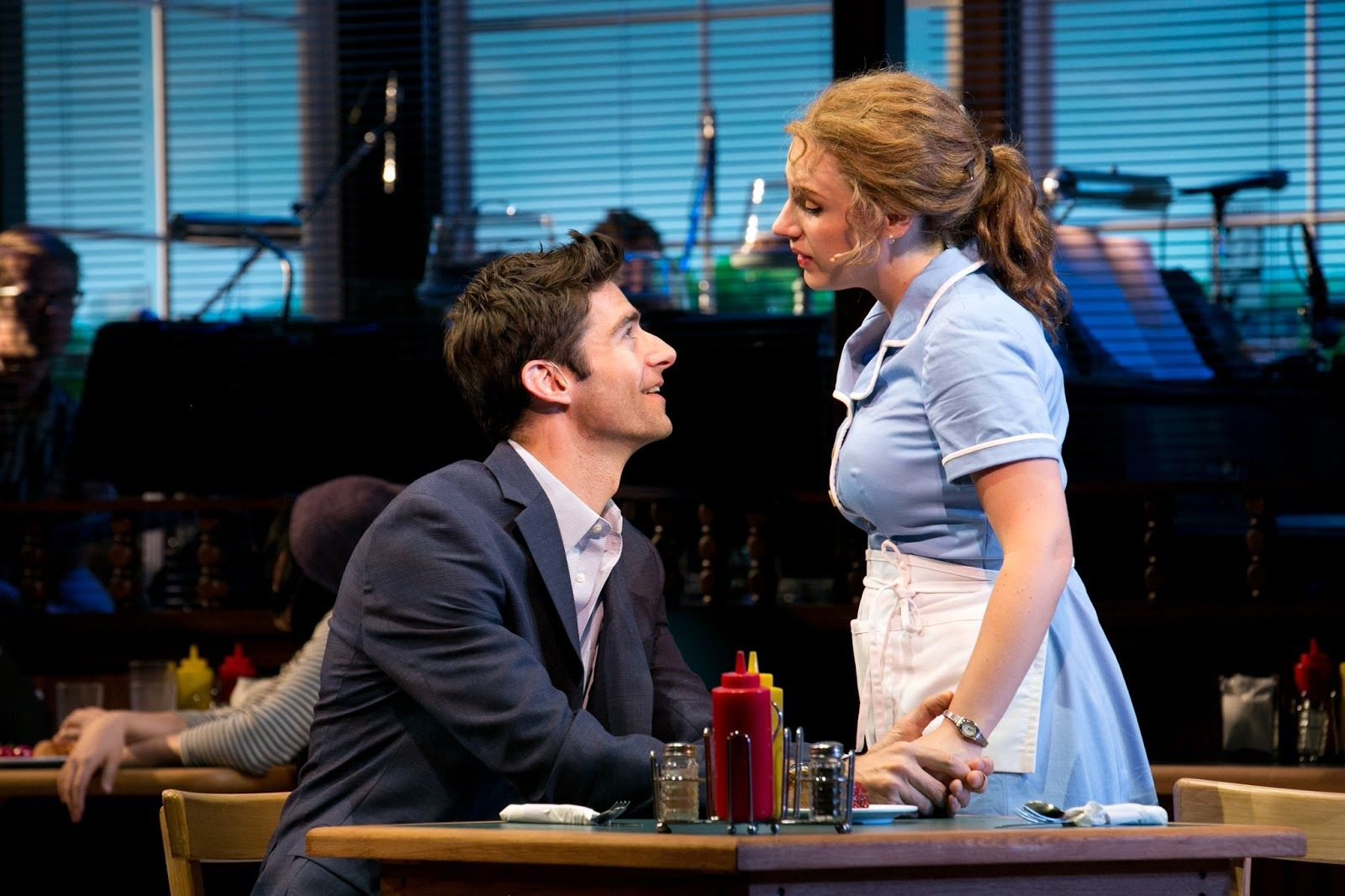 Image result for waitress musical west end