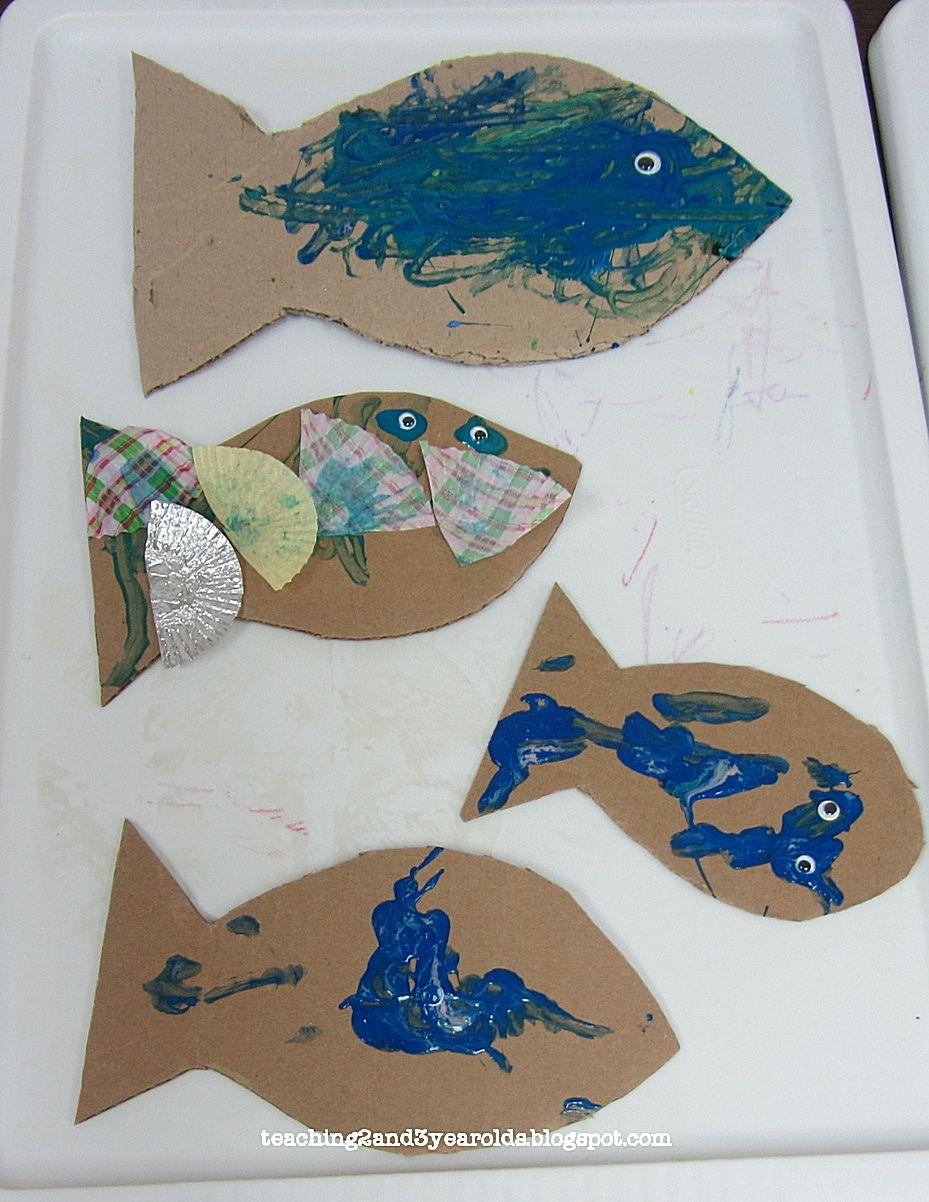 Rainbow Fish Preschool Arts And Crafts Arts And Crafts For Kids Fun Arts And Crafts