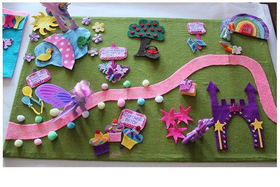 Was eine schöne Idee  Rund um Filz  Pinterest  Spielzeug, Spielteppich und Spiele