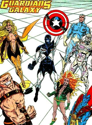 The Original Guardians Of The Galaxy Dc Comics Artwork Guardians Of The Galaxy Image Comics