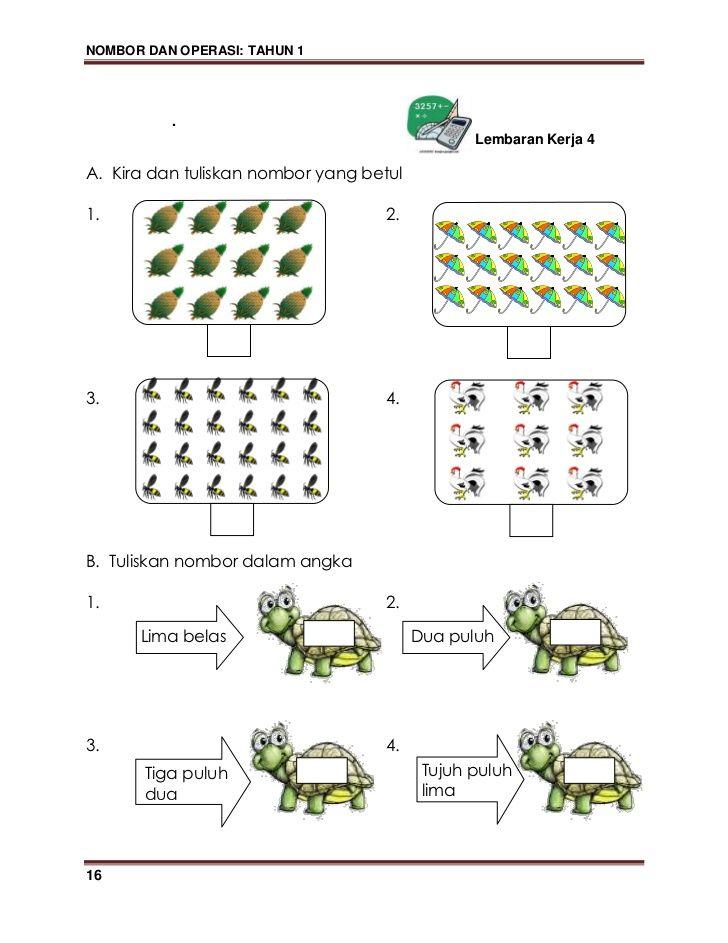 Nombor Dan Operasi Tahun 1 B Paparkan Sekeping Gambar Seperti Contoh Di Bawah Math Word Search Puzzle Words