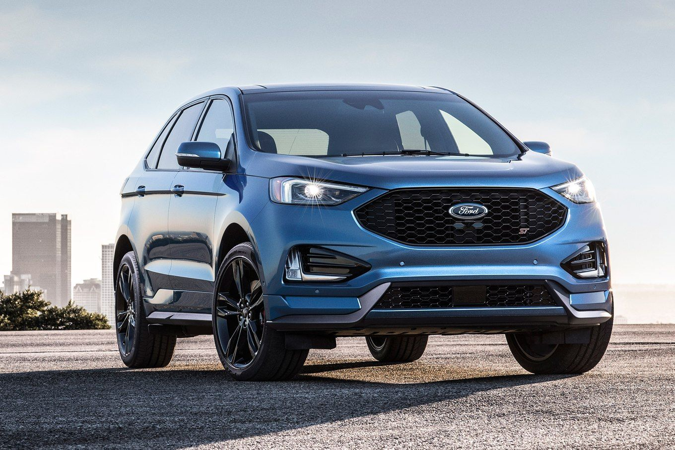 2019 Ford Edge St Gets Sport Mode With Rev Matching Feature Ford Edge Ford Kuga Ford Suv