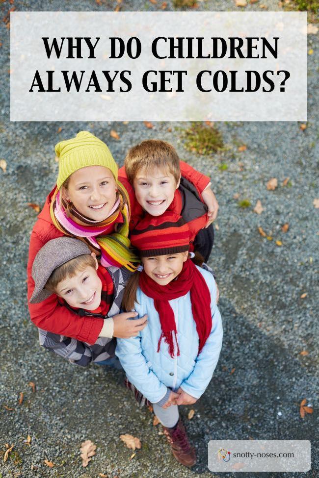 Why do Children always get Colds Children, Kids health