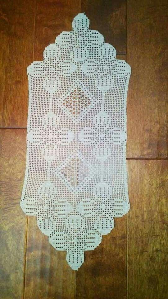 Pin de Fany Esther en crochet | Pinterest | Centros de mesa ...