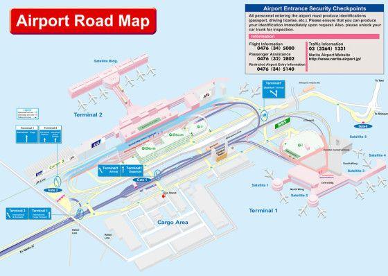Narita Airport Map Summer Vacation Nikita Japan Pinterest - Japan map airports