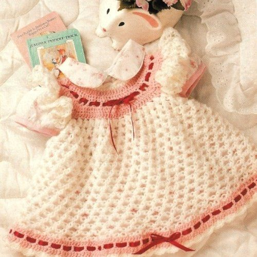 Crochet Patterns For Baby Shrugs : Free+Crochet+Baby+Dress+Patterns Crochet Love Knot Baby ...
