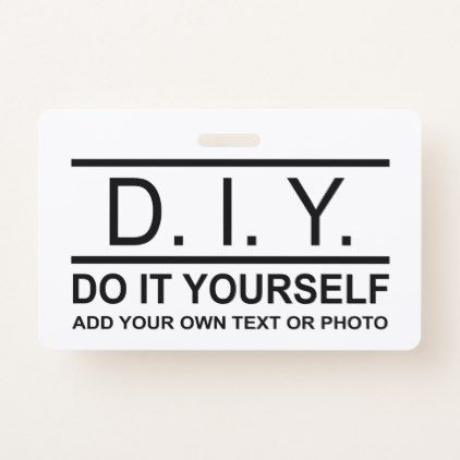 Personalized custom diy do it yourself double side badge solutioingenieria Image collections