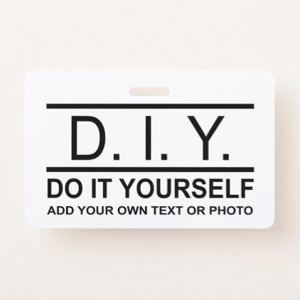 Personalized custom diy do it yourself double side badge solutioingenieria Gallery