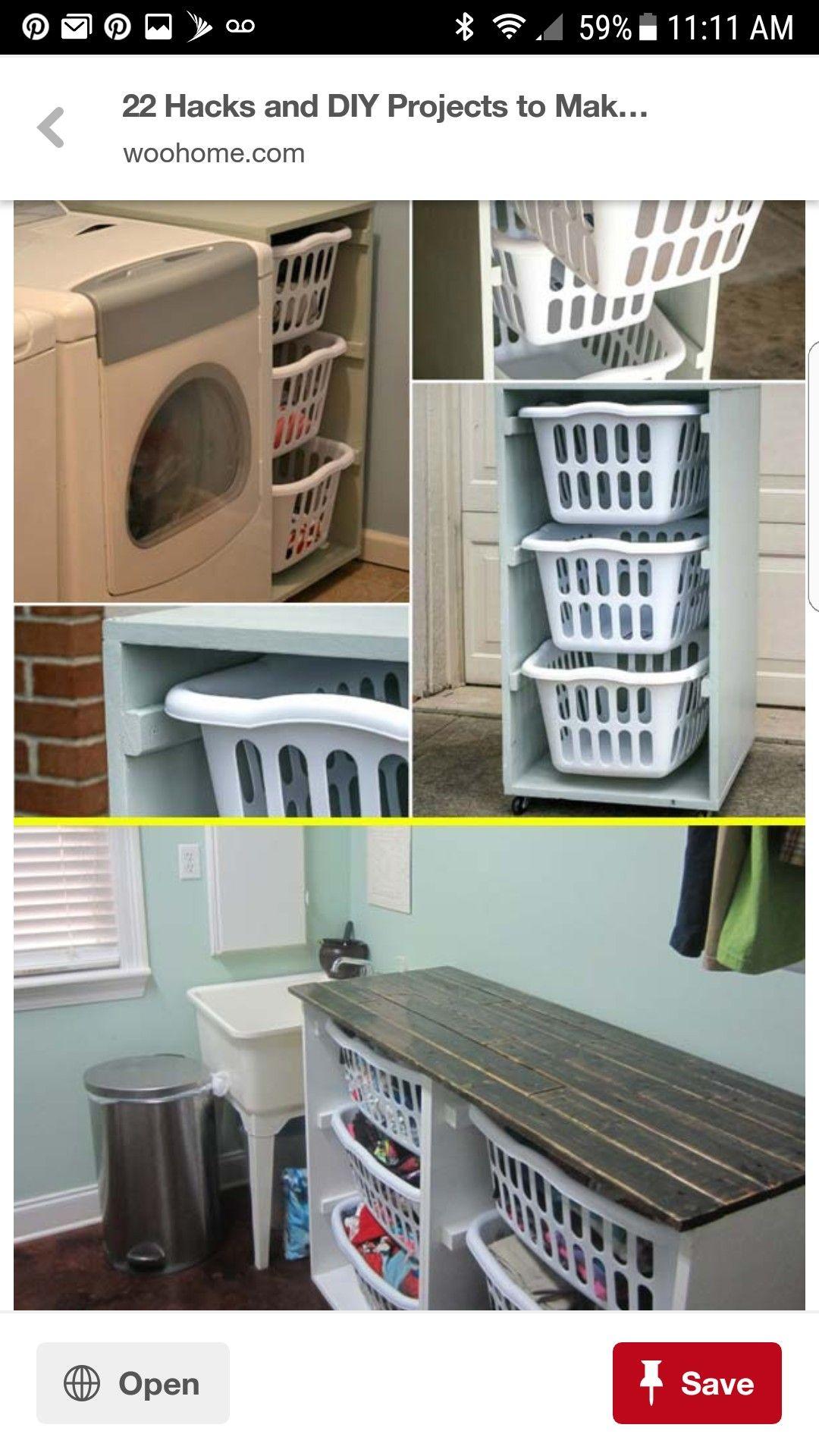 Pin By Trisha On Clean Laundry Room Hacks Home Decor Hacks Diy
