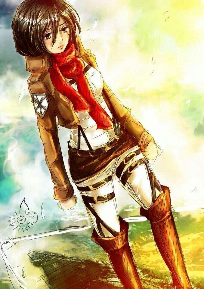 ميكاسا (With images) Attack on titan anime, Mikasa