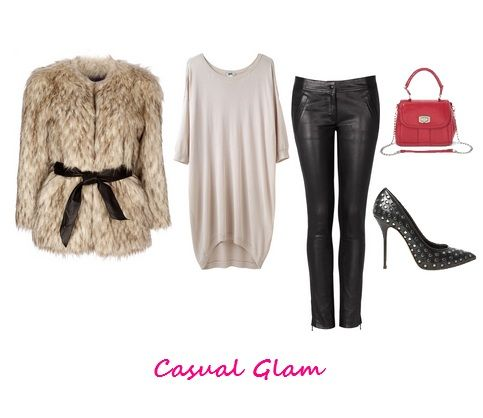 Comedy Show Outfit Casual Glam Fall Fashion Leather