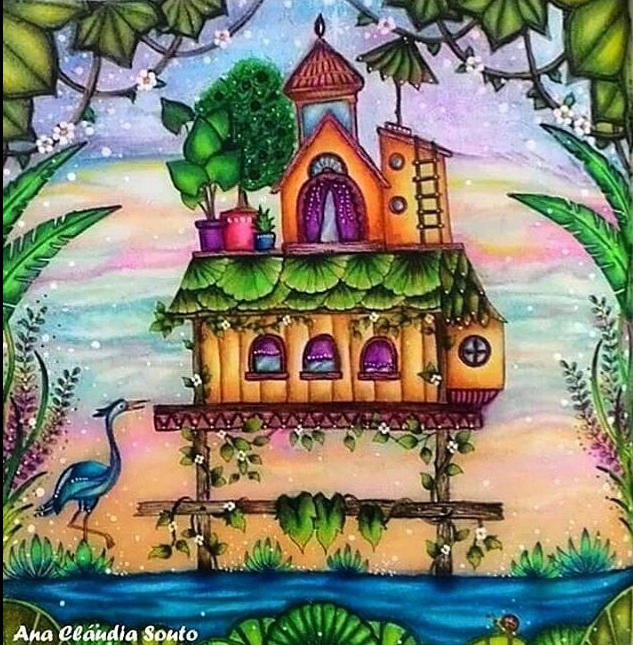 pin by chelssie brown on magical jungle johanna basford