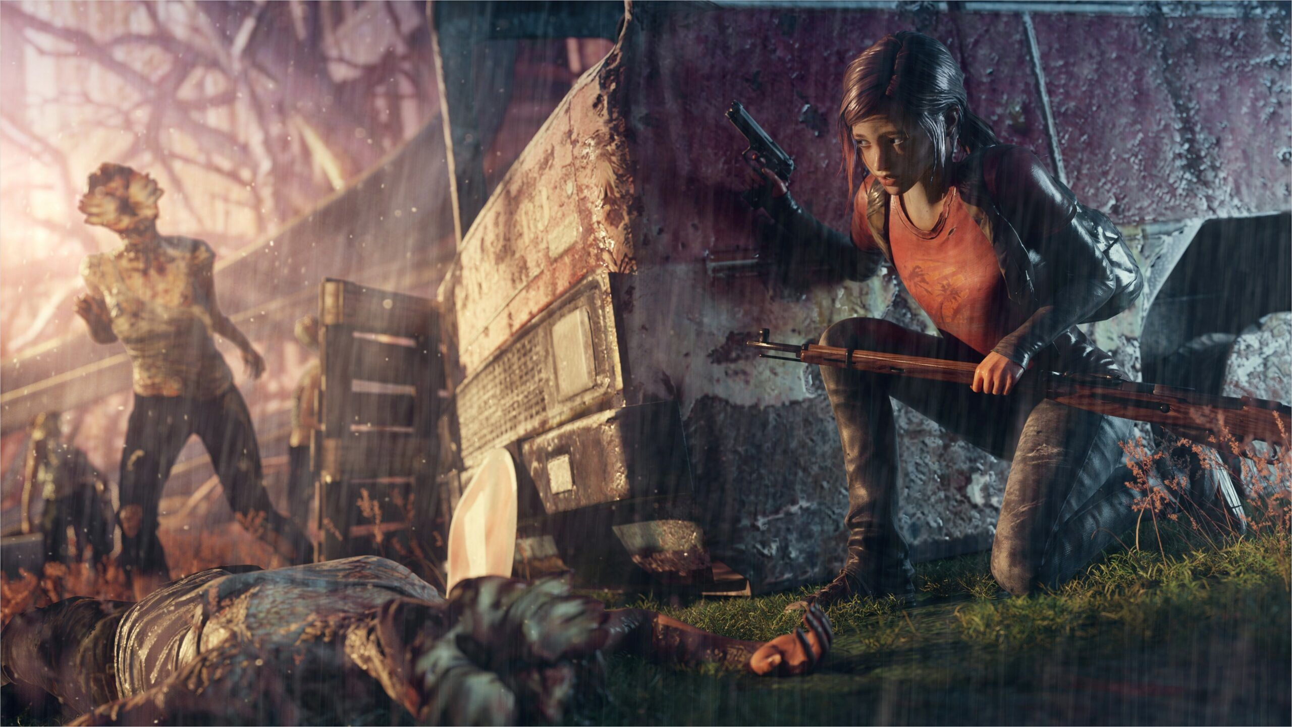 Wallpaper The Last Of Us 4k In 2020 The Last Of Us Background Images Adventure Survival