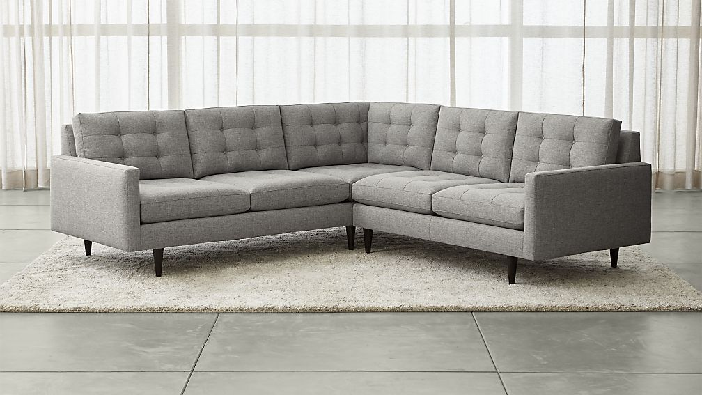 Best Petrie 2 Piece Corner Midcentury Sectional Sofa 400 x 300