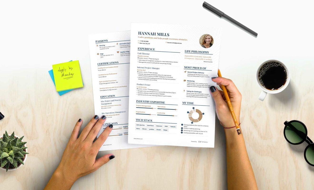 How to write a powerful one page resume 5 tips one page