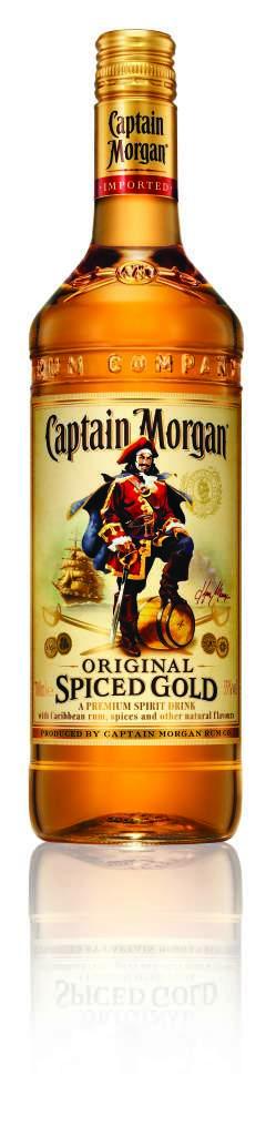 Captain Morgan Arrivera En France Pour L Ete Captain Morgan Rum Captain Morgan Rum