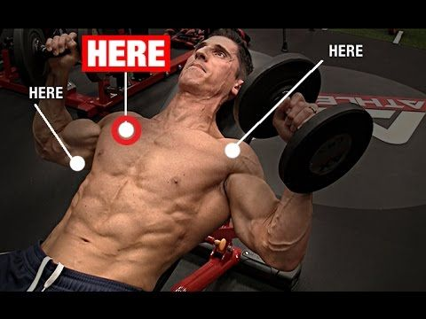 how to develop your lower chest bench press