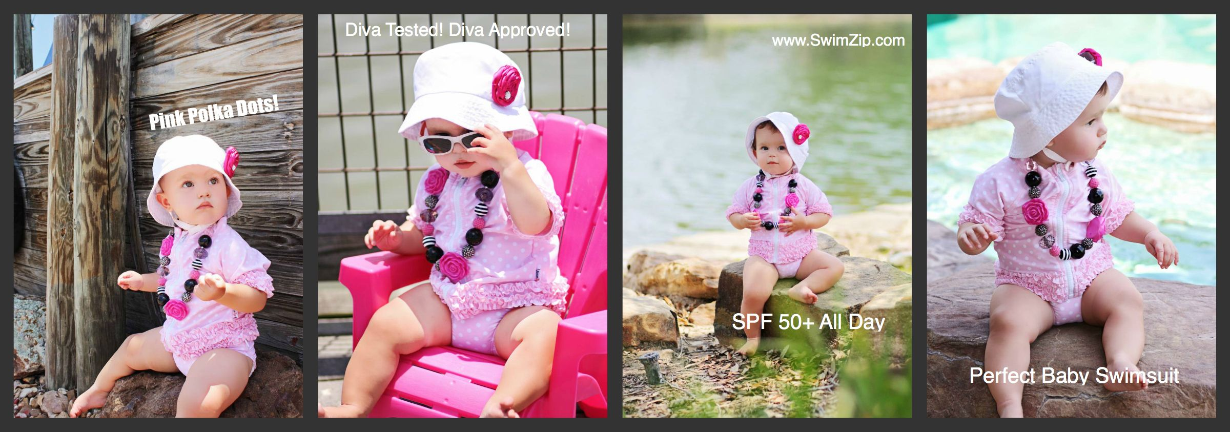 d5dbc41c Best Girl UV Sun Protective Suit | SwimZip | Baby swimwear, Baby ...