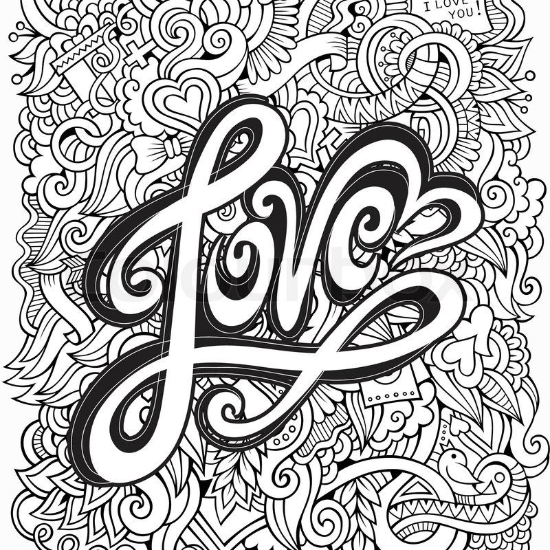 Doodles 37 Coloring Page Davlin Publishing