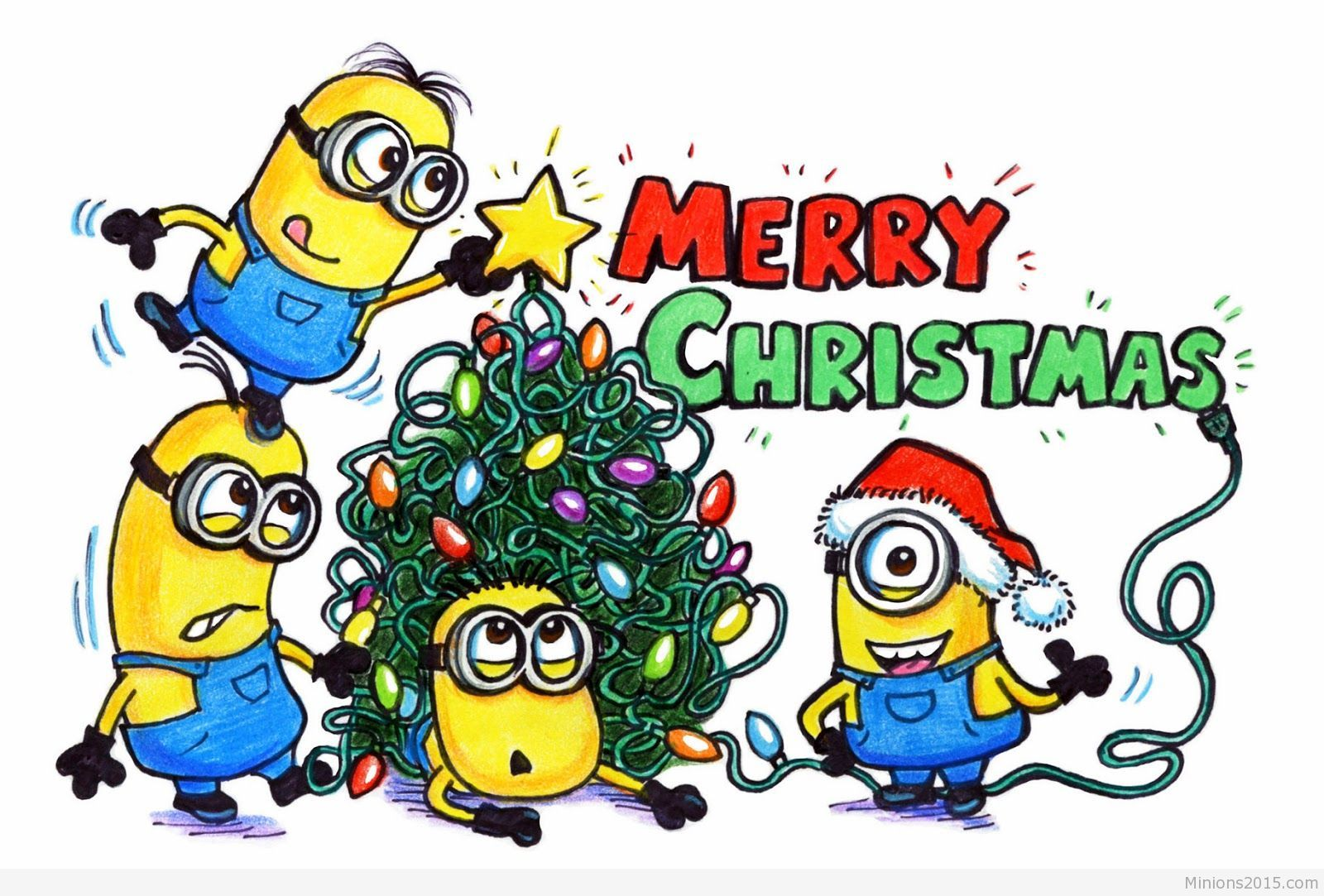 Funny Minions Christmas (03:39:00 AM, Friday 11, December 2015 PST) – 10 pics