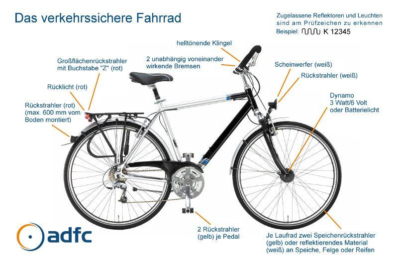 Verkehrssicheres Fahrrad 72 Dpi Jpg 800 530 Verkehrssicheres