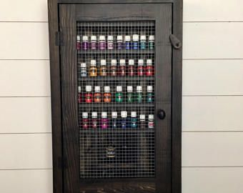 Black Essential Oil Cabinet Essential Oil Display Cabinet Oil Rack