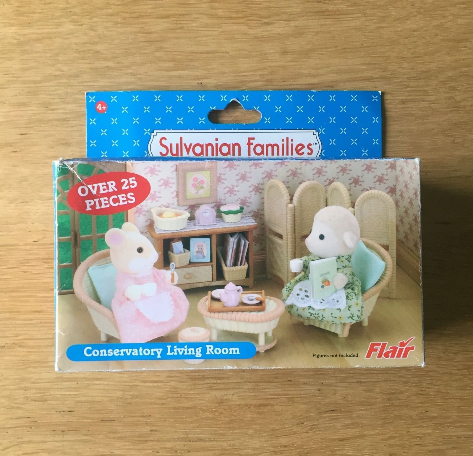 details about sylvanian families flair conservatory living room set rare htf bnib - Sylvanian Families Living Room Set