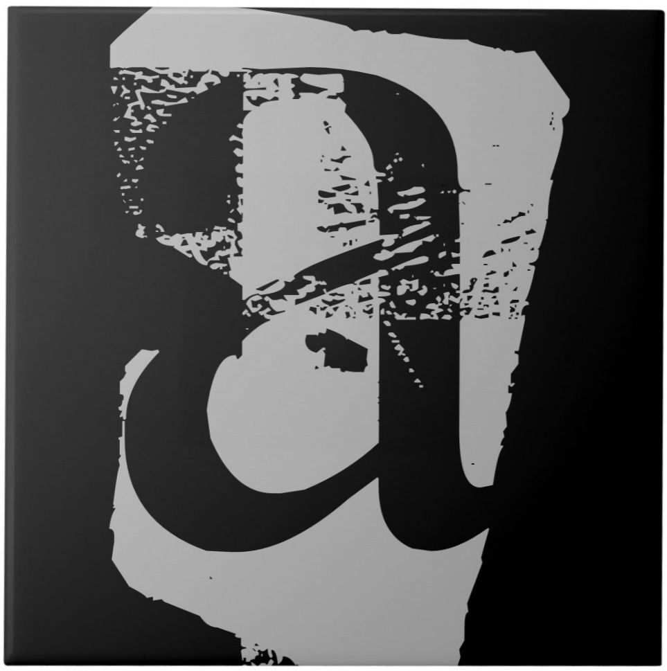 6x6 ceramic tile black letter customize black letter 6x6 ceramic tile black letter customize doublecrazyfo Image collections
