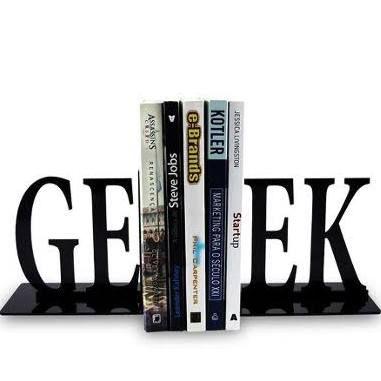 Aparador para Livros em Acrílico Geek