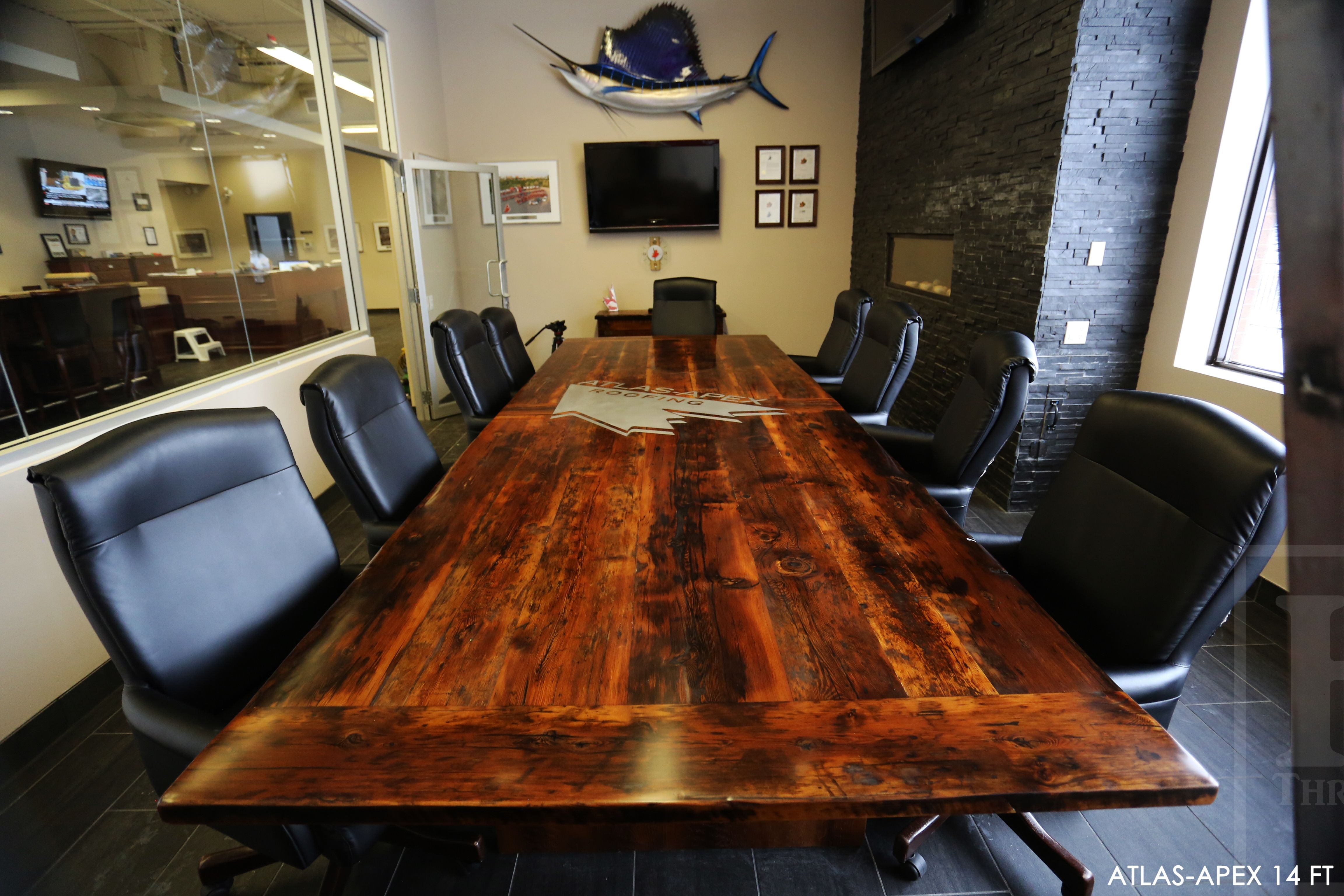 14 ft Boardroom Table - 60\