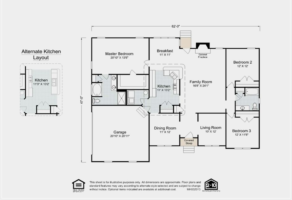 Explore the layout of the Concord floor plan from Madison – Madison Home Builders Floor Plans
