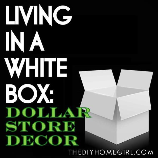 'Living In A White Box: Dollar Store Décor...!' (via The